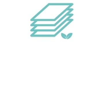 Des carrés de coton ultra doux 100% biologique Tidoo Care