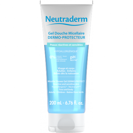 Un gel lavant Neutraderm 200ml
